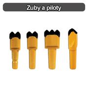 zuby a piloty logo